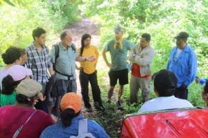 Community Meeting in Woods